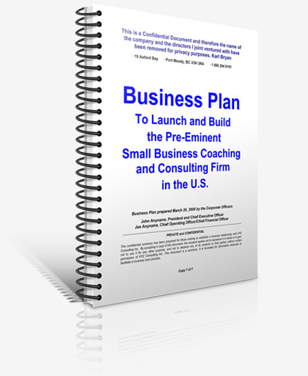 Business and Marketing Plan